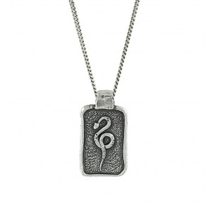 Waxing Poetic Anguis Necklace - Sterling Silver - 61cm