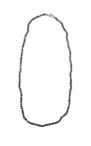 Waxing Poetic Worlds Away Necklace - Pyrite - 81cm