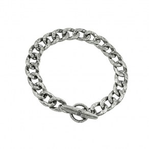 Waxing Poetic Boat Cleat Chain Bracelet - Sterling Silver - Small