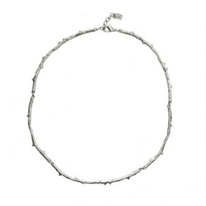Essence Of Life Choker Sterling Silver 38cm w/ 2,54cm extender