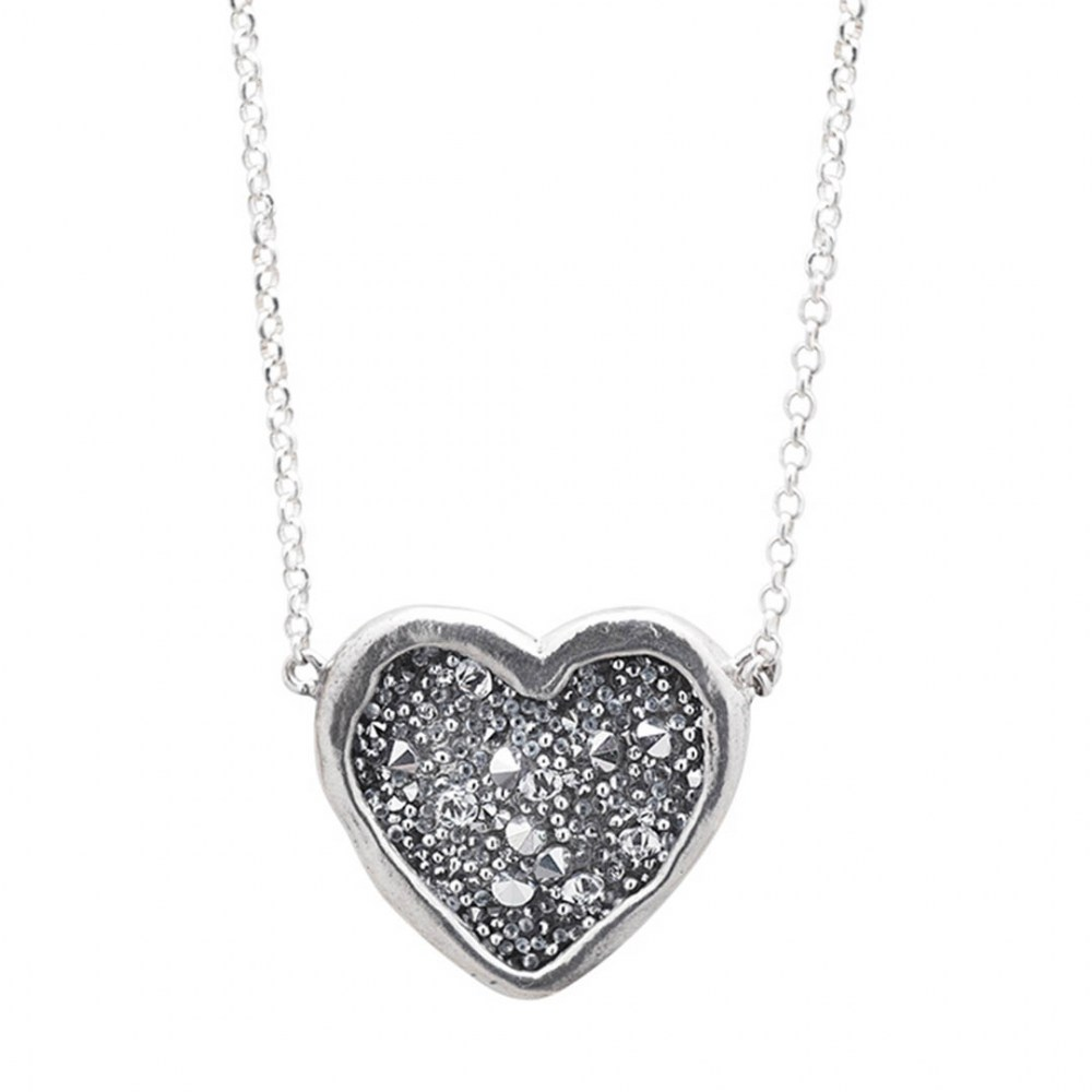 Waxing Poetic Guided By Heart Necklace 40cm