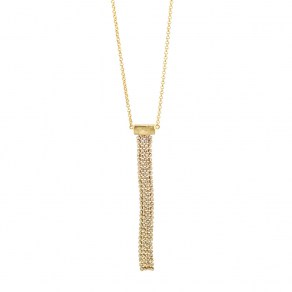 Waxing Poetic Groove Elevation Necklace 67cm