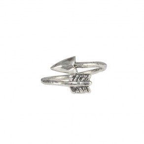 Waxing Poetic Hold Fast Ring - Arrow
