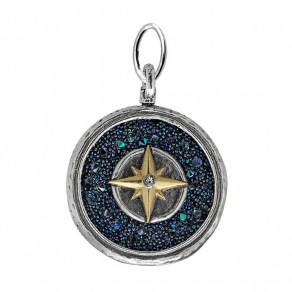 Waxing Poetic Inner Compass Pendant