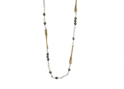 Waxing Poetic Lume Chain - Pyrite - 45cm