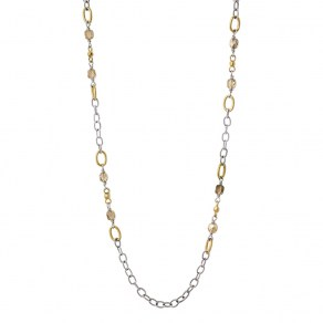 Waxing Poetic Miraculous Chain - Pale Gold - 55cm