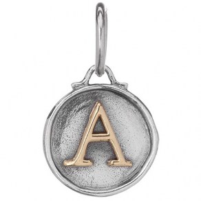 Waxing Poetic CHANCERY INSIGNIA CHARM - Sterling Silver/Brass - A