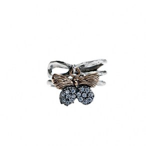 Natural Beauties Ring Butterfly