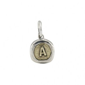 Waxing Poetic Petite Poetic Insignia - Sterling Silver, Brass -A