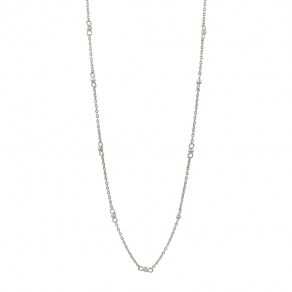 Waxing Poetic Around & Around Chain - Sterling Silver - 45cm